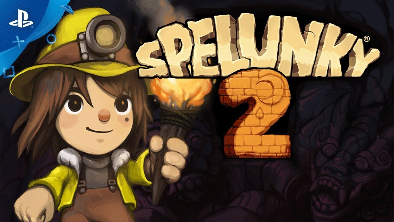 SPELUNKY 2 لعبة