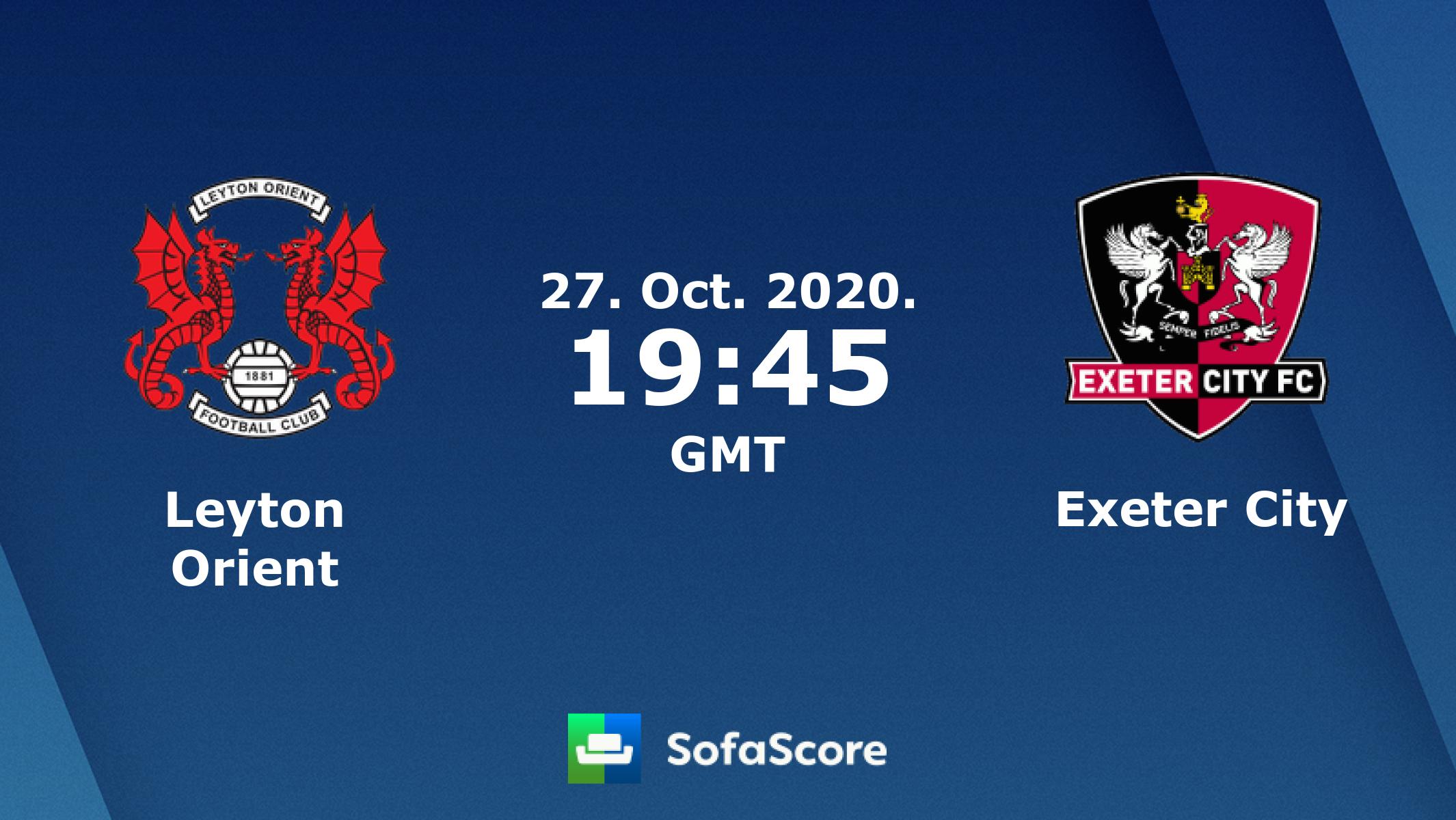 ليتون أورينت ضد إكستر الدوري الإنجليزي 2 لكرة القدم