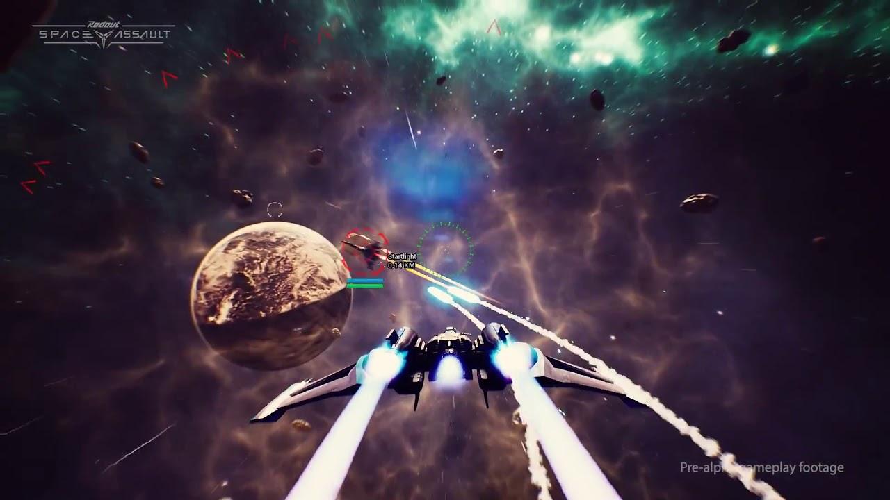 REDOUT SPACE ASSAULT لعبة